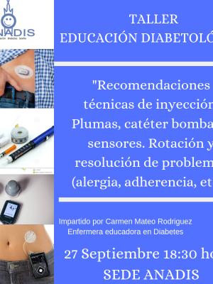 Taller Educación Diabetológica