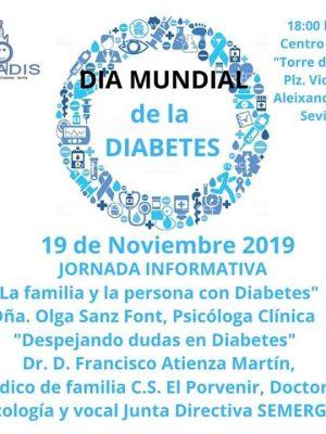"""Jornada Informativa """"Día Mundial de la Diabetes"""