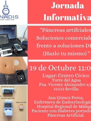 Jornada Informativa Páncreas Artificial