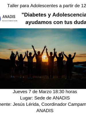TALLER PSICOLÓGICO PARA PADRES DE ADOLESCENTE CON DIABETES